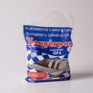 Gluténmentes kenyérliszt, süteményliszt, zsemlemorzsa